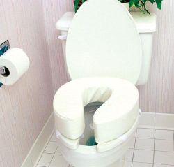 Pleasing Raised Toilet Seat 2 High Fits Most Standard Size Toilets Uwap Interior Chair Design Uwaporg