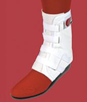 Easy Lok Ankle Brace Sm White Woven Tongue w/ Stabilizers