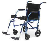 Freedom Transport Chair, Blue