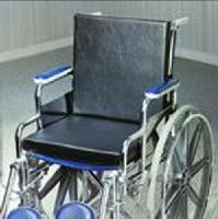 Solid Back Insert Wheelchair Cushion, 18