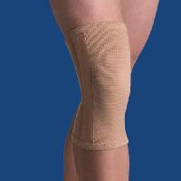 Elastic Knee Stabilizer, Beige Small 12