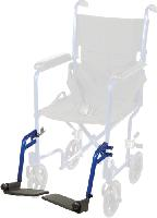 Swing Away Detachable Footrest for Aluminum Transport Chair